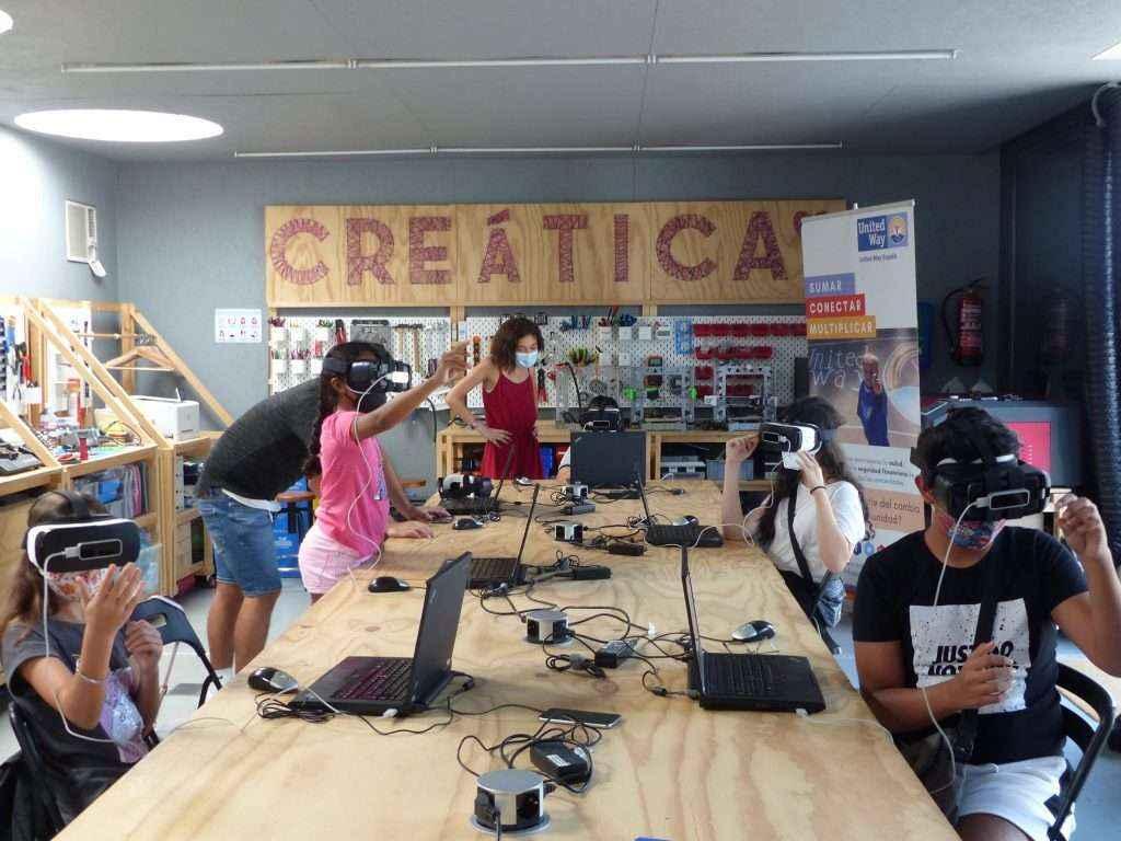 Fundación United Way y la Asociación Creática impulsan Techno Camps para evitar el abandono escolar de cara a septiembre