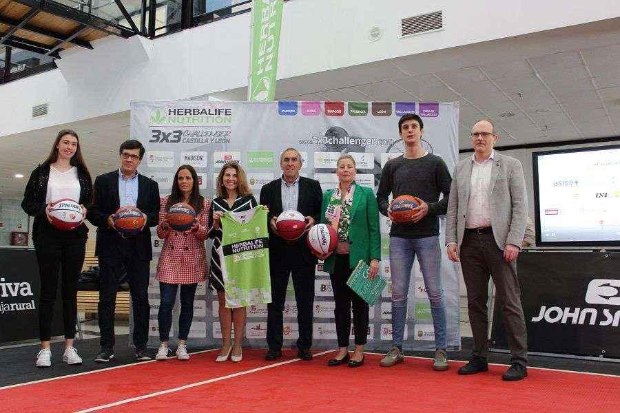 Herbalife Nutrition es el patrocinador principal del circuito 3X3 Challenger Castilla y León