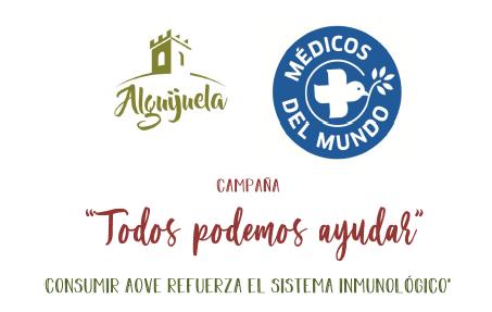 """La almazara Alguijuela inicia una campaña solidaria con Médicos del Mundo """"Todos podemos ayudar"""""""