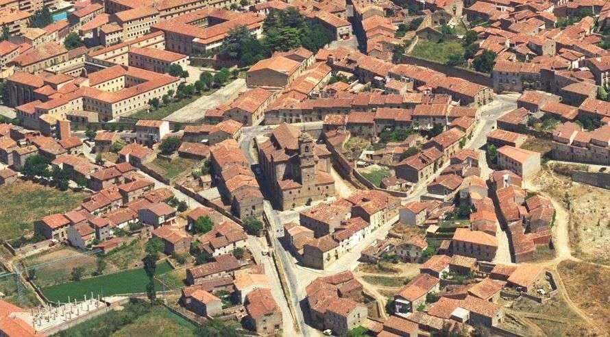 Letras Vivas Seguntinas: El Arrabal de Sigüenza, patrimonio arquitectónico