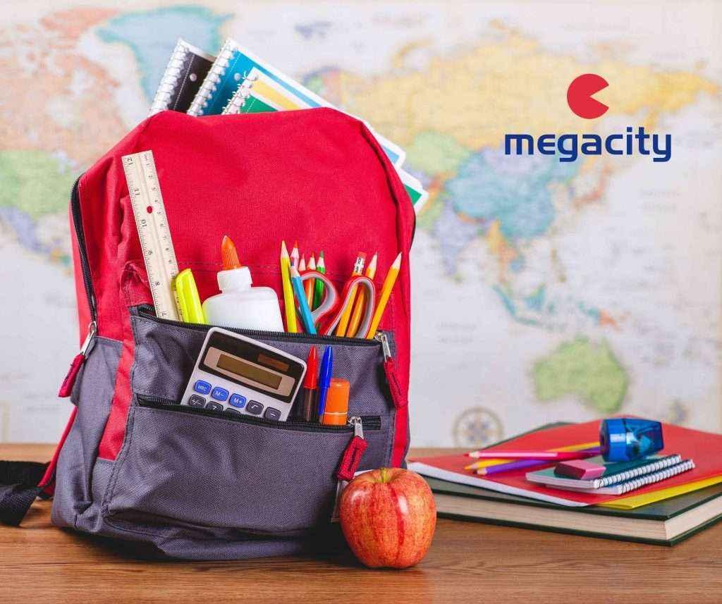 Megacity destaca la importancia de ayudar a los hijos en la vuelta al colegio
