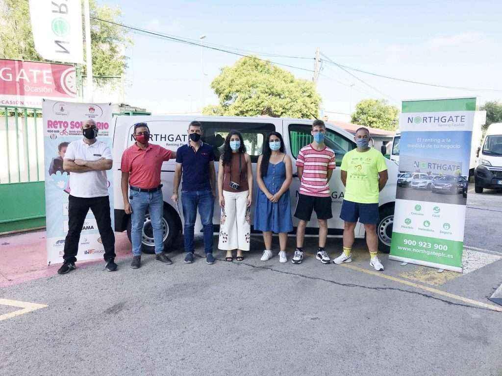 """Northgate Renting Flexible colabora con Grupo Jarama para ayudar a APANDID en el """"Reto Solidario 400 km non-stop Torrijos-Aspe"""""""