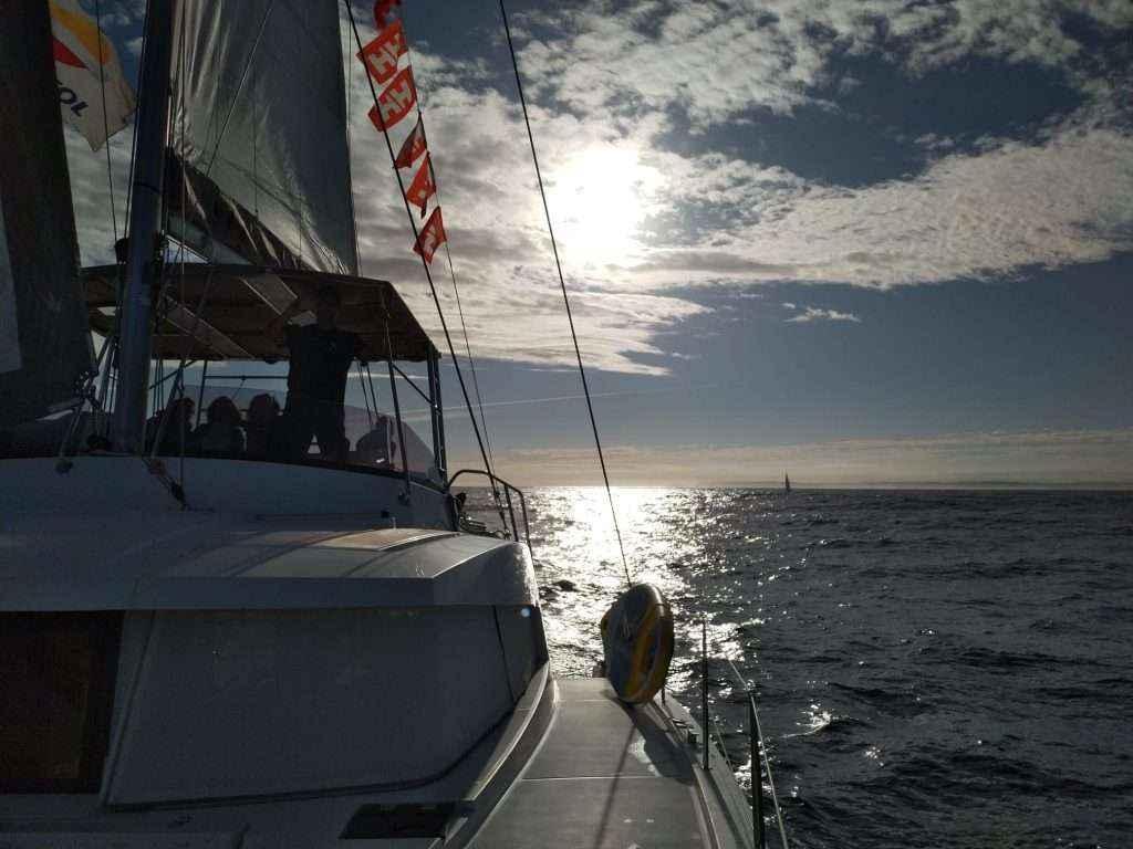"""Sail the Way: Galicia recibió a los peregrinos por mar de la travesía """"Navega el Camino"""" este fin de semana"""