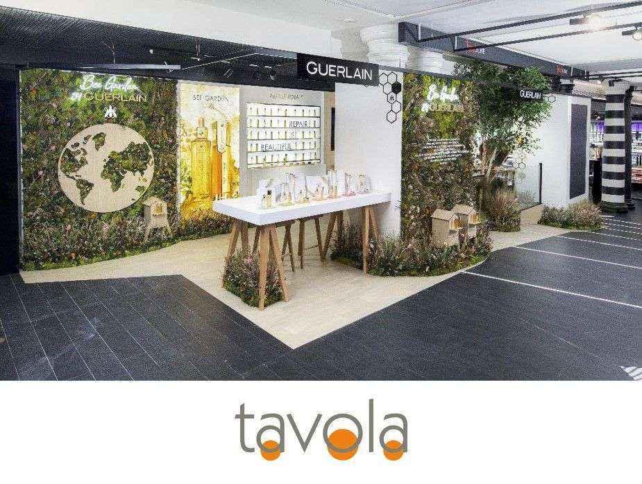 TAVOLA, ARTE Y DECORACIÓN realitza una producció per a GUERLAIN i manté la seva col·laboració amb CEDEC