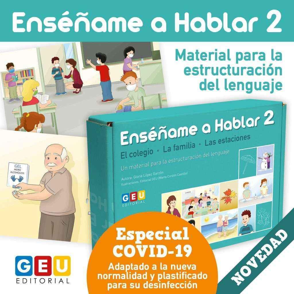 Editorial GEU lanza nuevo material para Educación Infantil y Logopedia: Enséñame a Hablar 2