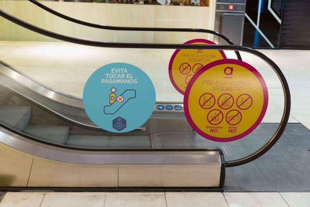 El Centro Comercial Arenas de Barcelona implementa la última tecnología de desinfección frente al COVID-19