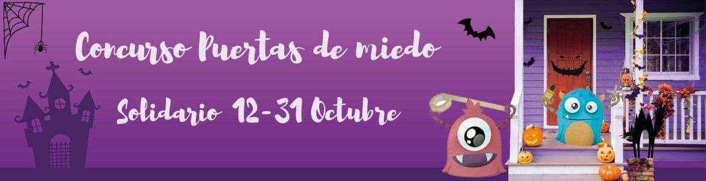 """El concurso de Halloween """"Puertas de Miedo"""" de Let's Go Fiesta vuelve este año en su versión más solidaria"""
