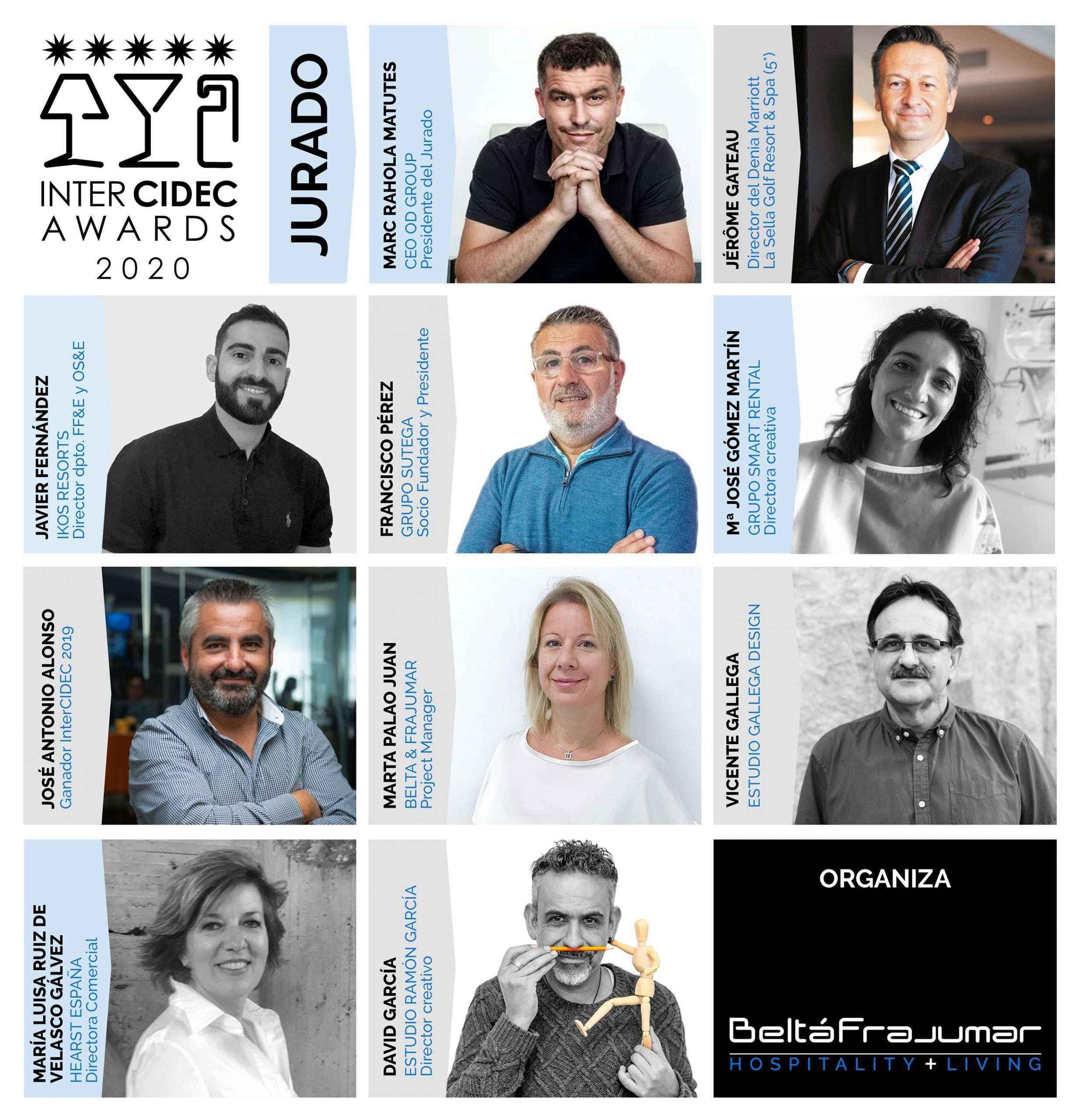 Marc Rahola preside el jurado de los Premios de Interiorismo InterCIDEC 2020 organizados por Beltá Frajumar