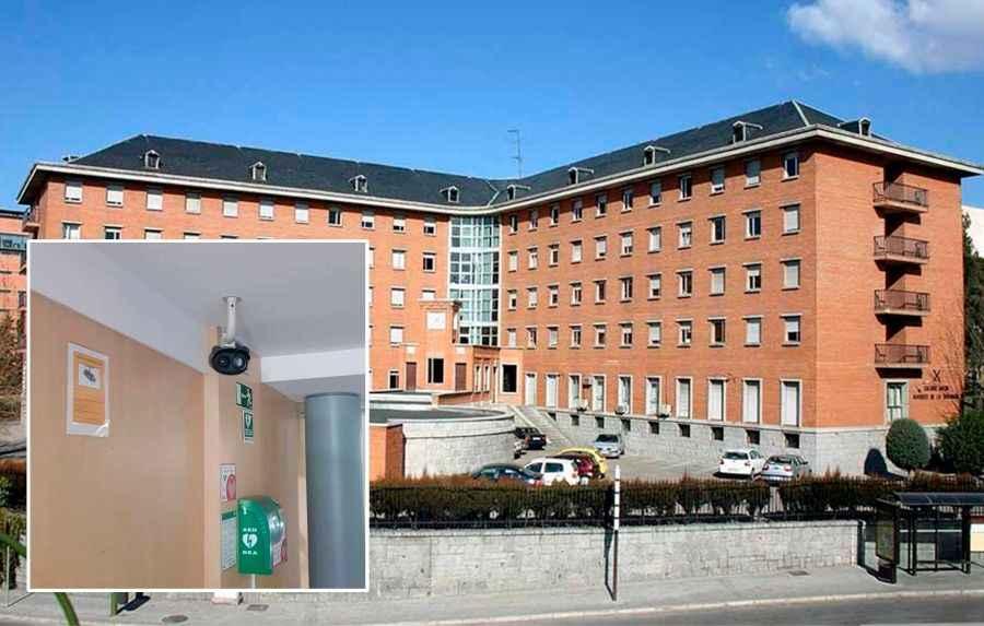 El Colegio Mayor Universitario Marqués de la Ensenada instala una cámara termográfica para detectar alteraciones de temperatura de sus residentes frente al COVID- 19