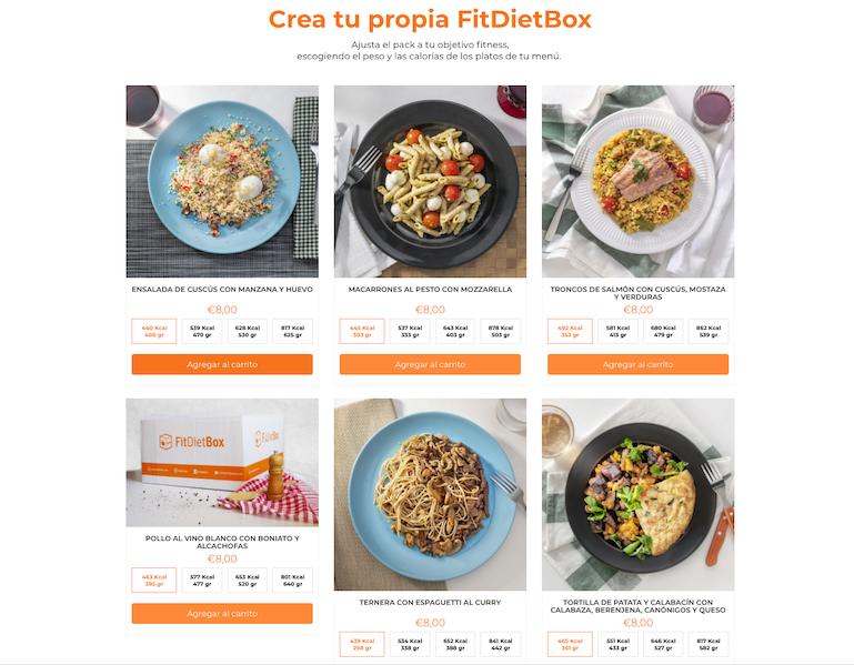 El control nutricional, uno de los puntos fuertes de FitDietBox