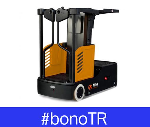 MB Forklift incluye sus productos estrella en el Plan de ayudas Bono TR de Carretillas TR
