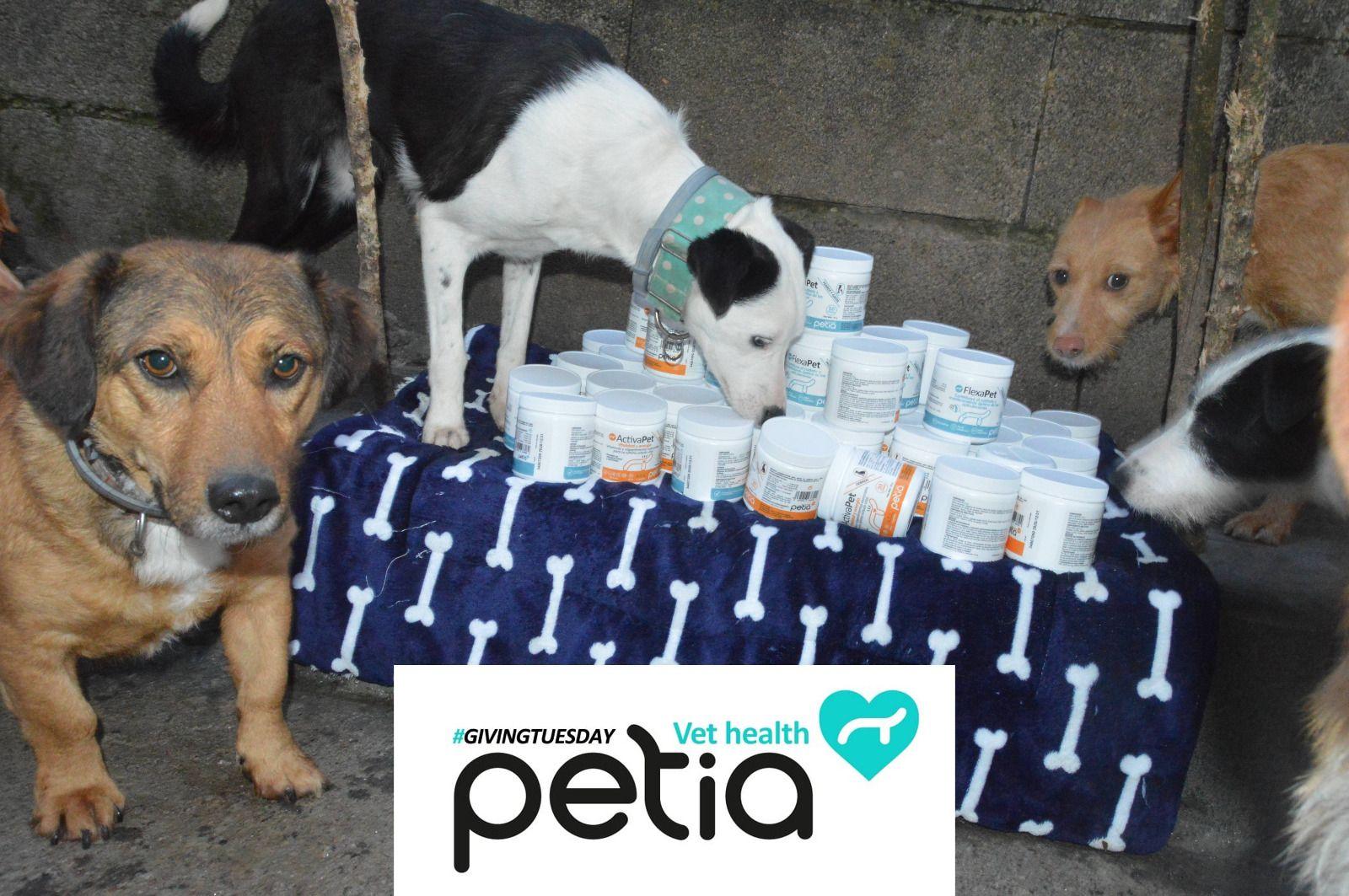 Petia se une al Giving Tuesday y dona más de cinco mil euros en productos